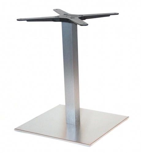 SC291-H500 - Bijzet-tafelonderstel, hoogte 50 cm, voet 40 x 40 cm