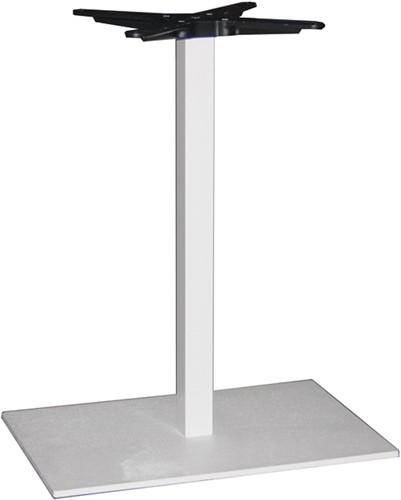 SC299 - Tafelonderstel, langwerpige voet, hoogte 73 cm, voet 60 x 40 cm