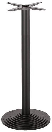 SC31 - Sta-tafelonderstel, ronde voet, hoogte 110 cm, voet diameter Ø44 cm