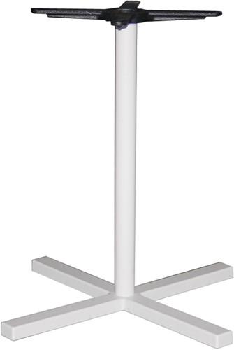 Tafelonderstel SC322 - Sta-tafelonderstel kolompoot, kruisvoet, hoogte 110 cm, voet 48x48 cm