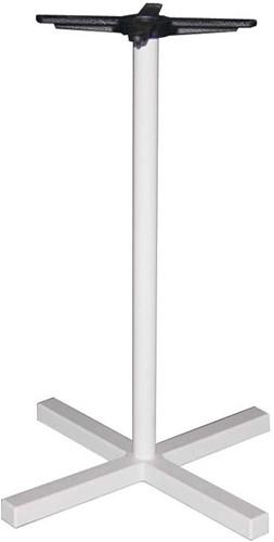 Tafelonderstel SC324 - Sta-tafelonderstel kolompoot, kruisvoet, hoogte 110 cm, voet 70x70 cm