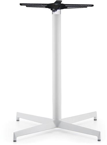 SC411 - Tafelonderstel, kruisvoet 48x48 cm, hoogte 73 cm