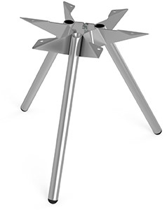 Tafelonderstel SC501-LITTLE - Driepoot onderstel Lonc collectie, hoogte 45 cm