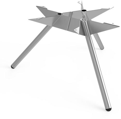 Tafelonderstel SC501 - Driepoot tafelonderstel Lonc collectie, hoogte 45 cm.