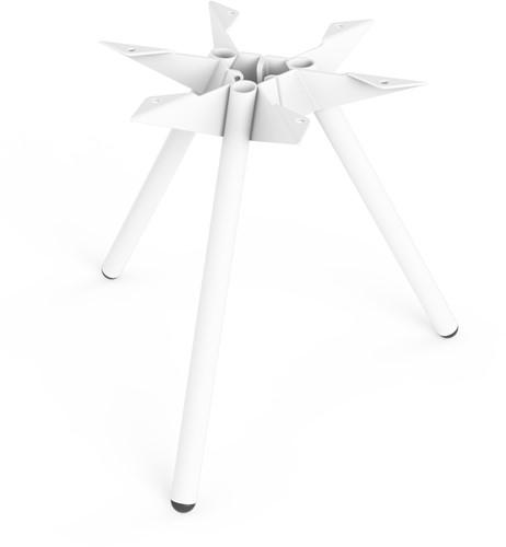 SC501 - Driepoot tafelonderstel Lonc collectie, hoogte 45 cm.