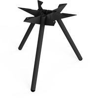 SC501 - Driepoot tafelonderstel Lonc collectie, hoogte 45 cm.-3