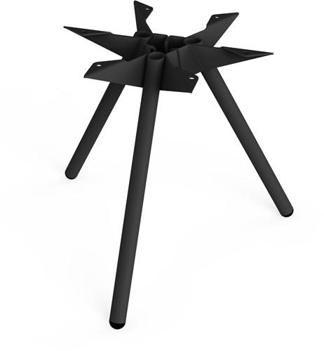Tafelonderstel SC501 - Driepoot tafelonderstel Lonc collectie, hoogte 45 cm.-3