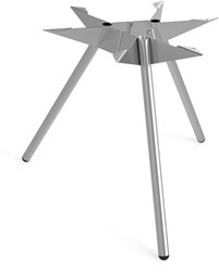 SC503 - Driepoot tafelonderstel Lonc collectie, hoogte 65 cm.