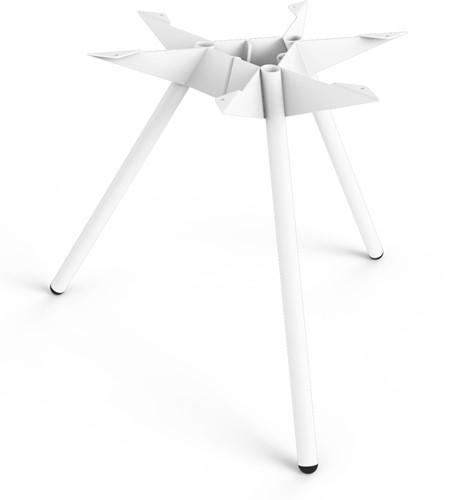 SC503 - Driepoot tafelonderstel Lonc collectie, hoogte 65 cm.-2