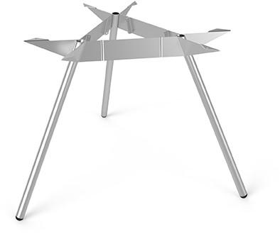 Tafelonderstel SC507 - Driepoot tafelonderstel Ø120 Lonc collectie, hoogte 75 cm