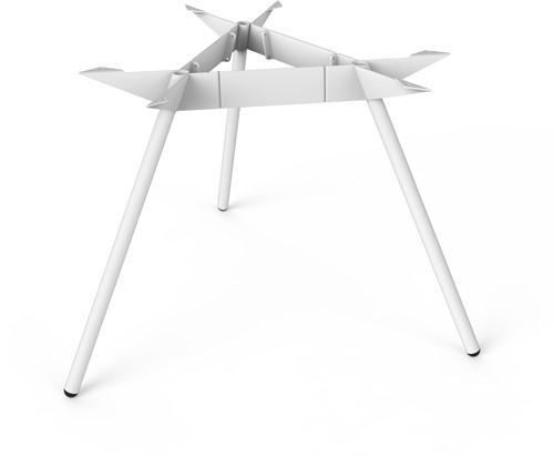 SC507 - Driepoot tafelonderstel Ø120 Lonc collectie, hoogte 75 cm.-2