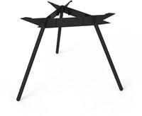 SC507 - Driepoot tafelonderstel Ø120 Lonc collectie, hoogte 75 cm.