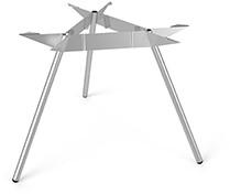 SC509 - Driepoot tafelonderstel Ø150 Lonc collectie, hoogte 75 cm.