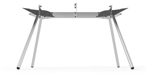 SC523 - Vierpoot tafelframe 200x95 Lonc collectie, hoogte 75 cm.