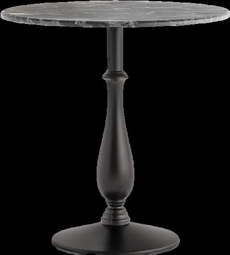 SC583 - Klassiek tafelonderstel met gietijzeren voet, h.73, voet Ø40 cm