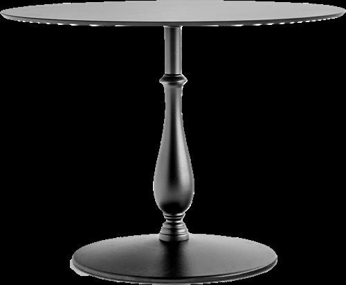 SC585 - Klassiek tafelonderstel met gietijzeren voet, h.73, voet Ø55 cm
