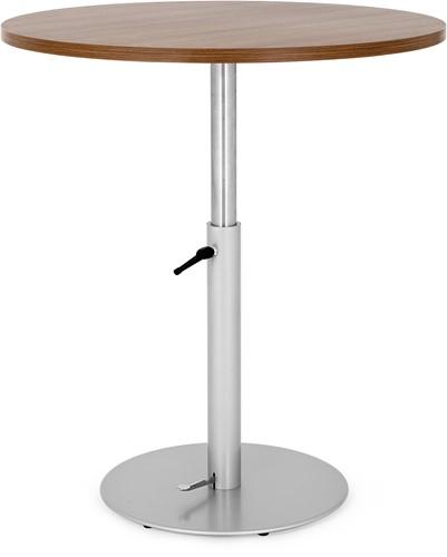 SC595 tafelonderstel hoogte verstelbaar met gaslift 72-110 cm, voet diameter Ø60 cm