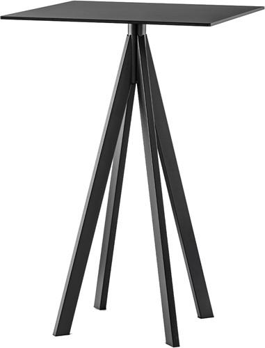 SC604 - Tafelonderstel vierpoot, hoogte 110 cm, gepoedercoat staal
