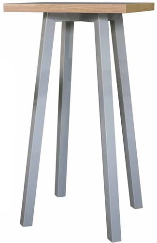 Tafelframe SC754 - Vierpoot tafelframe met schuine poten voor statafel
