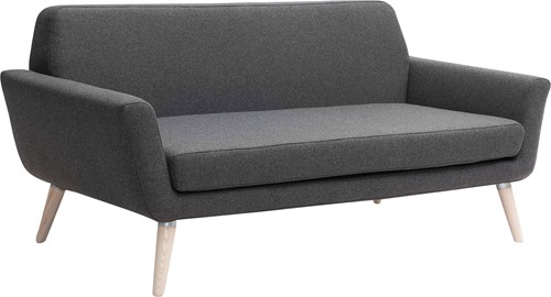 Scope Sofa - gestoffeerde bank met houten poten