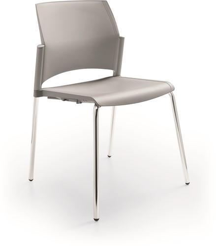 S580 - stevige kunststof kantine / school stoel