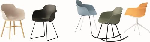 Sicla SL - sledeframe stoel, kunststof kuip-2
