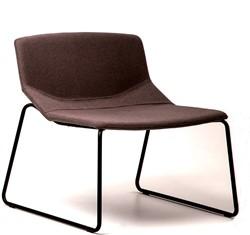 Formula slim 663 - gestoffeerde lounge stoel / fauteuil