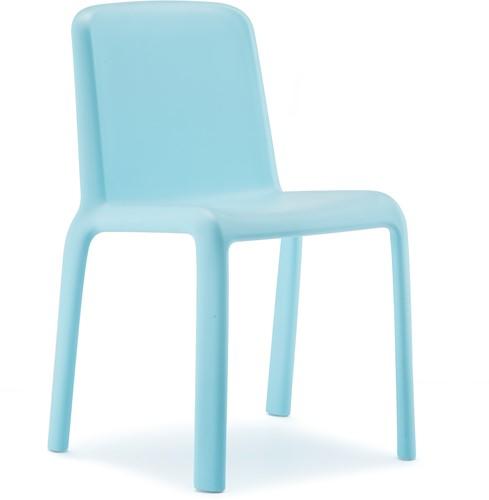 Kinderstoel Snow 303 polyprolyleen light blauw, zith. 35cm