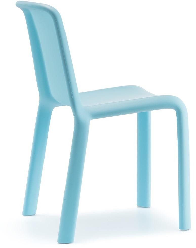 Beste Kinderstoel Snow 303 polyprolyleen geel, zithoogte 35 cm. bij FP EJ-71