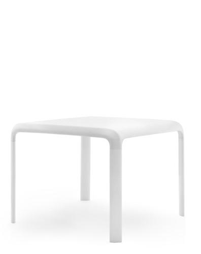Snow 301 JR Kindertafel - tafel H=58 cm, blad polypropyleen kunststof wit