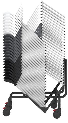 Staq Trolley AC750 - Trolley voor stapelstoel Staq, geschikt voor max. 25 kunststof stoelen