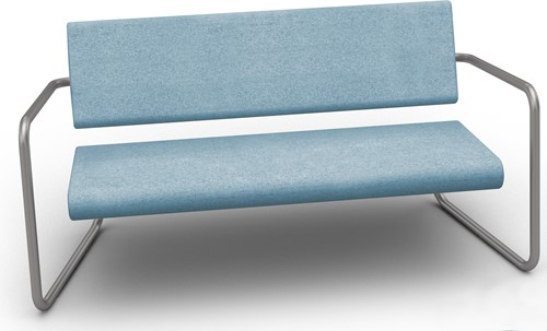 Steeler bank - Comfortabele lounge bank