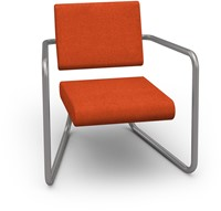 Steeler stoel - Comfortabele lounge stoel