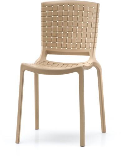Tatami 305 - lichtgewicht stevige, UV-bestendige terrasstoel met kunststof gevlochten zitting-2