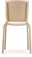 Tatami 305 - lichtgewicht stevige, UV-bestendige terrasstoel met kunststof gevlochten zitting-3