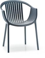 Tatami 306 - lichtgewicht stevige UV-bestendige terrasstoel, stapelbaar
