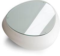 Lonc Teaser glasplaat - glasplaat voor op Teaser kunststof bijzettafel-3