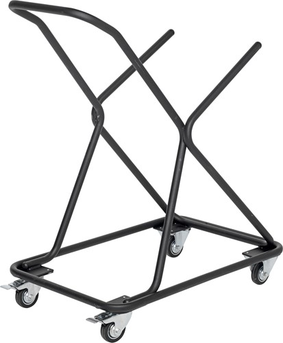 Trolley voor stoel Texture, frame zwart