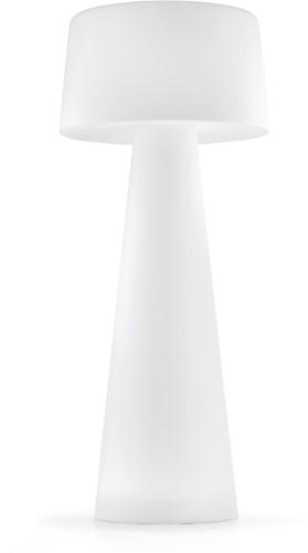 Time Out - Geheel kunststof staande outdoor vloerlamp