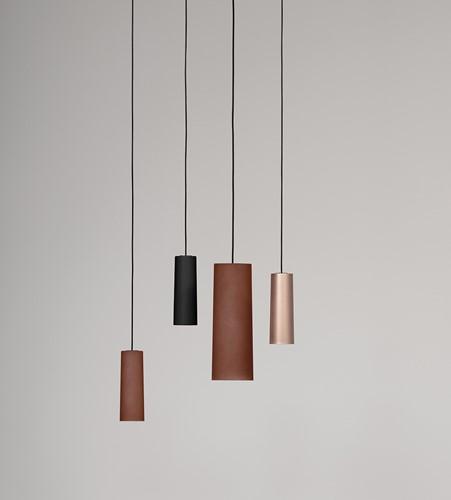 TO.BE L006S/B hanglamp - grote hanglamp met mat afgewerkte kunststof kap-2