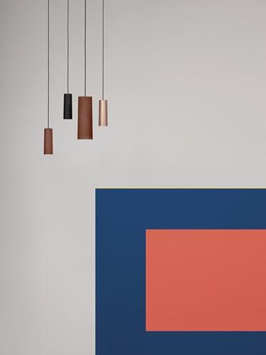 TO.BE L006S/B hanglamp - grote hanglamp met mat afgewerkte kunststof kap-3