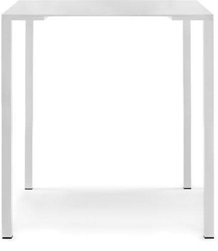 Togo 110 Statafel - Statafel met aluminium vierkante poten, blad is 30 mm spaanplaat met HPL