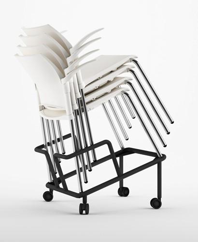 AC26 trolley - trolley voor stapelbare stoelen-2