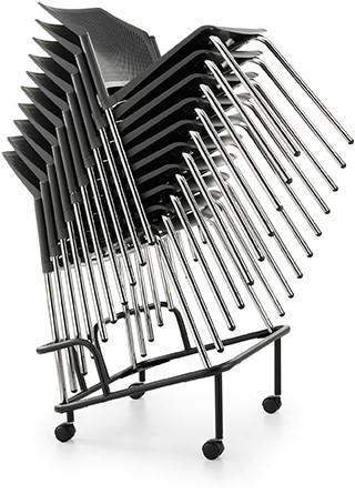 AC26 trolley - trolley voor stapelbare stoelen