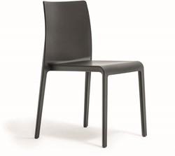 Volt 673 - geheel kunststof kantine / outdoor stoel met hoge rug