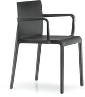 Volt 675 - geheel kunststof kantine / outdoor stoel met doorlopende armleggers-2