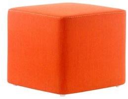 Wow 324 - gestoffeerde vierkante poef