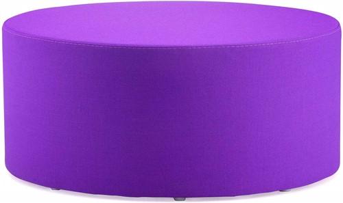 Wow 325 - gestoffeerde ronde poef, diameter 85 cm
