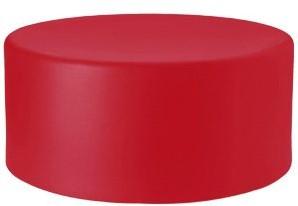 Wow 470 - kunststof ronde poef/ bijzettafel-3