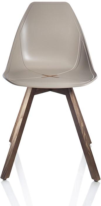 Houten Stoel Met Kruis.X Chair 1083 Comfortabele Design Stoel Met Uniek Kruis In De